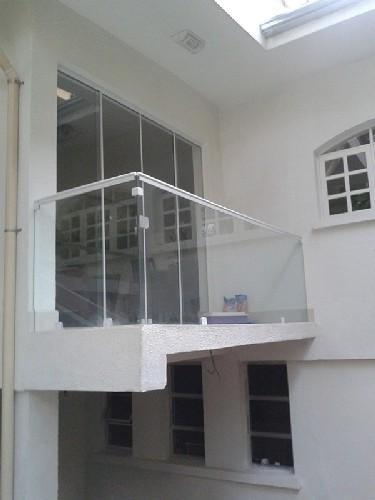 sacada com vidro